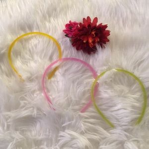 NWT Urban Outfitters 3 Neon Headbands